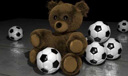 Fußball Contentbär